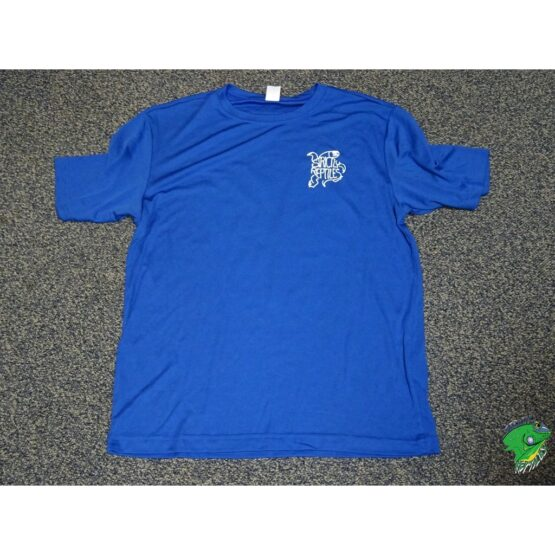 Sport Tek Strictly T shirt Royal Blue front