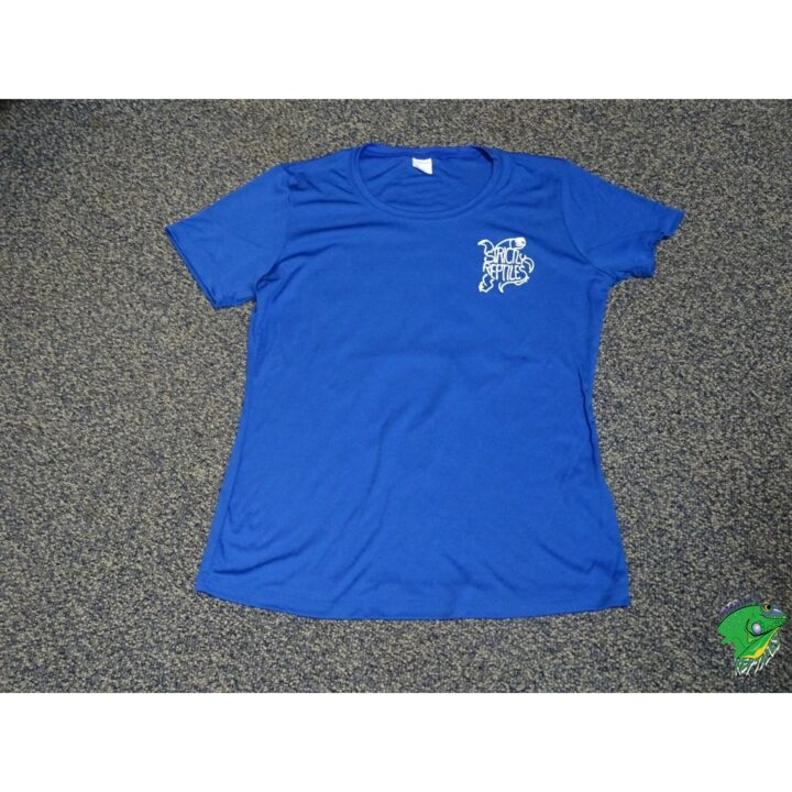 Strictly Womens Royal blue round neck